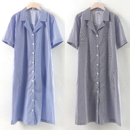ウィスィモールIWジュルジカラベルトワンピースMS1707 綿ワンピース/ 韓国ファッション
