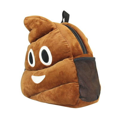 Qoo10 - Creative Emoji Backpack Adult/Kids