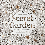 Secret Garden An Inky Treasure Hunt Coloring Book For Children Adult