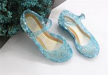 Snow frozen Cinderella girl Princess child children shoes Cave Dance Crystal Shoes sandals