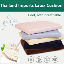 Thailand Natural Latex Seat Mat Lumbar Pillow Office Chair Seat Cushion Coccyx teachers day gift