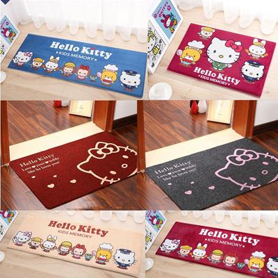 qoo10 hello kitty themed floor mats carpet living room