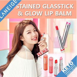 2019  NEW! ONLY 1-DAY PRICE  [LANEIGE] Stained glasstick/lip balm/lipstick/cool tone/warm tone