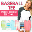NEW! Vintage Split Neck Baseball Tee 9 Colors_Super Comfortable Material/tshirt wanita pakaian wanita casual tee kaos wanita