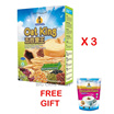 Oat King Original Flavor 500g X 3 packs Free Instant Oats 500g