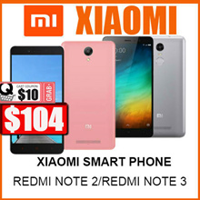 (XIAOMI BRAND NEW )REDMI NOTE 2/5.5 INCHES /REDMI NOTE 3 5.5 INCHES /EXPORTY SET /LOCAL WARRANTY