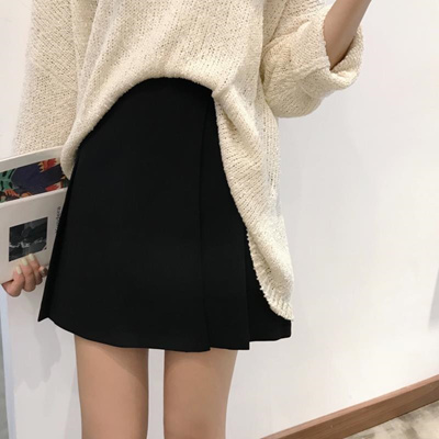 4a7383d761831 Qoo10 - 2018 Spring Big Code Women s new half skirt fat mm Korean ...