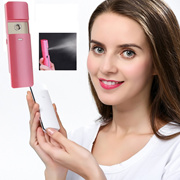 2 in 1 Power Bank and Rechargeable Sliding Nano Facial Steamer