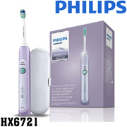 Philips Sonicare Healthy White HX6721 Electric toothbrush Rechargeable Sonic Diamond Clean