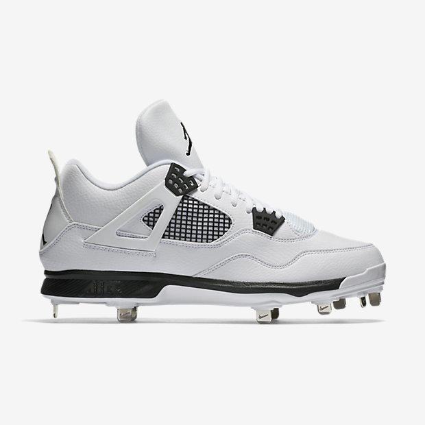 fit to viewer. prev next. Nike NIKE AIR JORDAN 4 OREO RETRO Baseball Metal  Spike  807710  WHITE US 8.5 4719c553be1e3
