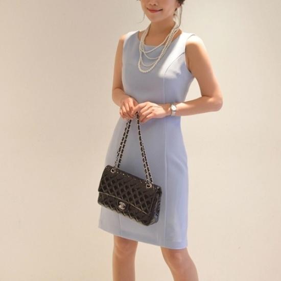 悪女日記】シンプルワンピース55776col 綿ワンピース/ 韓国ファッション