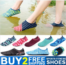 Buy 2 Free Shipping Unisex Skin Shoes Aqua Shoes Swimming Shoes Sport Shoes Water Shoes Hiking Rafting Snorkeling Canoeing Beach Shoes