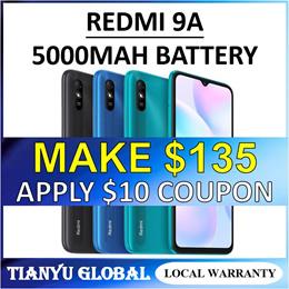 Xiaomi Redmi 9A | 6.53 HD+ DotDrop Display | 6.53 inch HD+ | 5000mAh Battery | MediaTek Helio G25