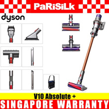 Dyson Cyclone V10 Absolute + Cordless Stick Vacuum Cleaner - Singapore Warranty