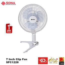 Sona 7 Inch Clip Fan - SFC1228 (1 Year Warranty)