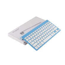 Ultra slim 2.4G Wireless Keyboard for IPAD ,MACBOOK,LAPTOP,TV BOX Computer PC