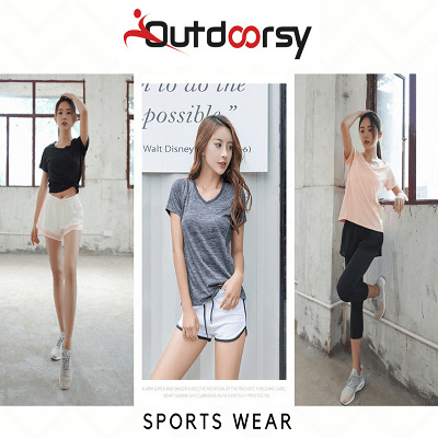 804adc9aa78e8f COUPON   Outdoorsy  Womens Sports Wear Tank Top Sleeveless Top Tee T Shirt  Yoga Top Gym