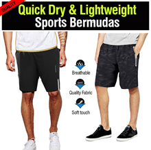 [IMD]♥ LIGHTWEIGHT SPORTS Bermudas ♥Quick Dry!Singapore Seller! Bermudes jersey bicycle soccer