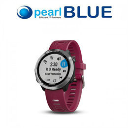 Garmin Forerunner 645 Music Cerise | GPS Running Watch with Music and Contactless Payments
