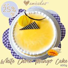 [Emicakes] White Choco Mango Cake | 600gm
