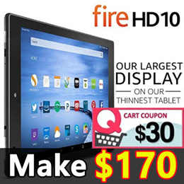 🔥 Lowest Price!! 🔥 Amazon All-New Fire HD 10 Kindle Tablet with Alexa HD Display