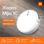 【Official Store】Xiaomi Mijia Mi 1C Robot Vacuum | 2500 Pa | Vacuum + Smart mopping | APP Support