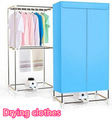 Household Clothes Dryer Small Clothes Dryer Folding Simple Wardrobe