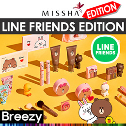 *LIMITED*LINE FRIENDS♥ [BREEZY] ★ [MISSHA]  Glow Tension Special Edition