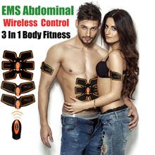 Wireless Muscle Stimulator Abs Trainer Body Fitness Slimming Massager Machine For Men women