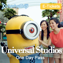 【Universal Studio Singapore】2017 USS Universal Studios Singapore Day Pass E-ticket SEA ACW