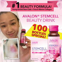 $429* - 10 BOXES SPECIAL BEST SELLING AVALON STEMCELL BEAUTY DRINK - SEE THE CHANGE IN 7 DAY