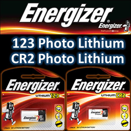 Energizer CR123 / CR2 3V Photo Lithium Battery ★ Authentic and New Stocks ★ Quality Performance