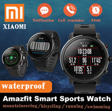 English Version Xiaomi Huami Amazfit Smart Watch Stratos 2 GPS PPG Heart Rate Monitor 5ATM