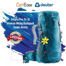 Deuter Futura Pro 34 SL Woman Hiking Backpack - Denim Arctic