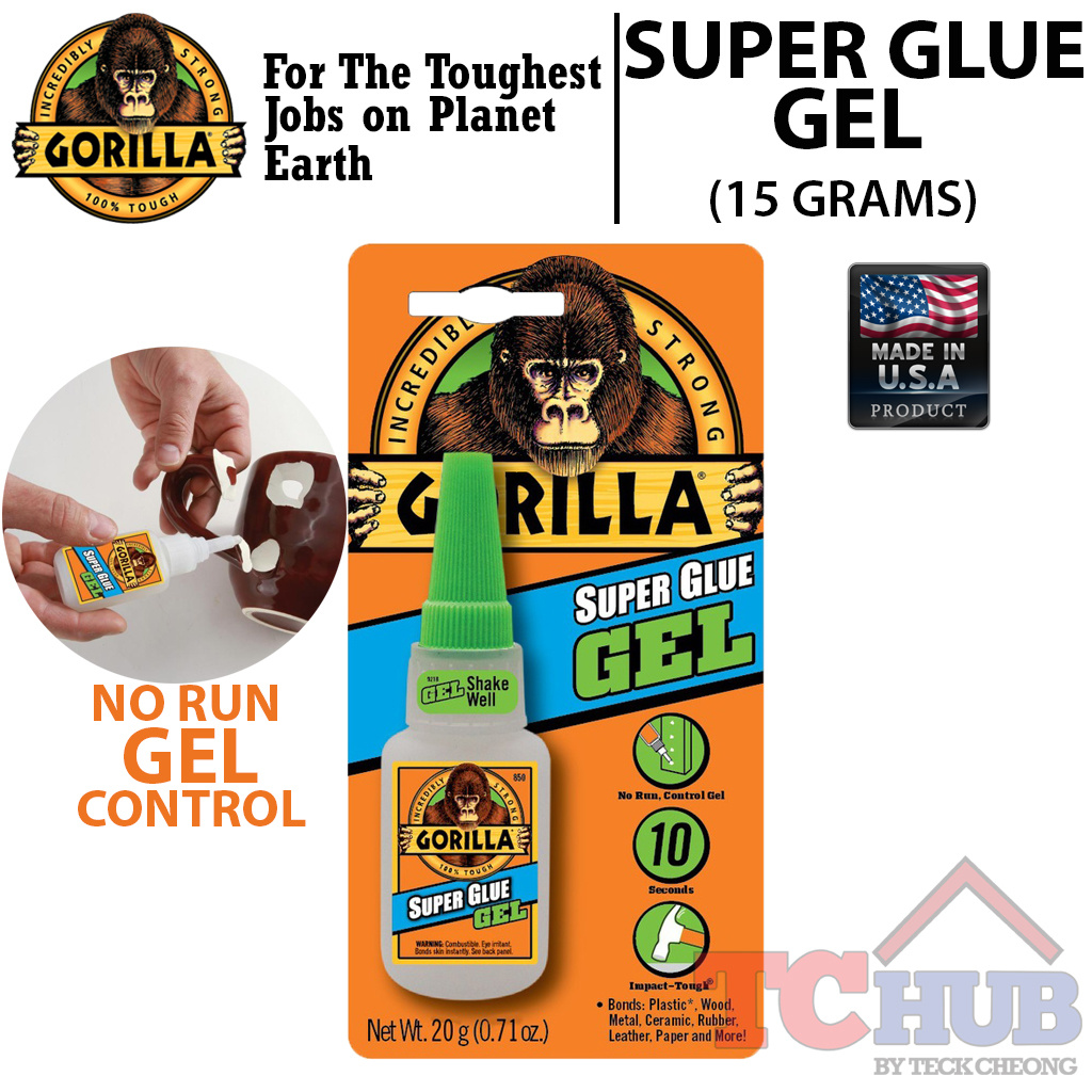 Qoo10 Gorilla Super Glue G Furniture Deco Loctite 495 20 Gram Fit To Viewer