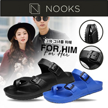 TOFFEL Pop Sandals - Couple Wear/Flip Flop/Slippers/Beach Wear/Fashion/ Korean