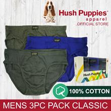 HUSH PUPPIES 3PCS MENS CLASSIC BRIEFS - HMB679413