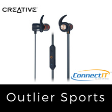 CREATIVE OUTLIER SPORT WIRELESS EARPHONE W/ LOCAL WARRANTY