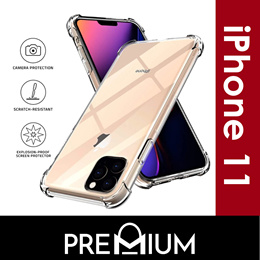 iPhone 11 Pro MAX Case Cover Casing Back Flip Anti Shock Tempered Glass Screen Protector