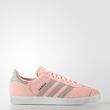 Adidas Women originals GAZELLE Running_SHOES BA7656 Sneaker white/pink