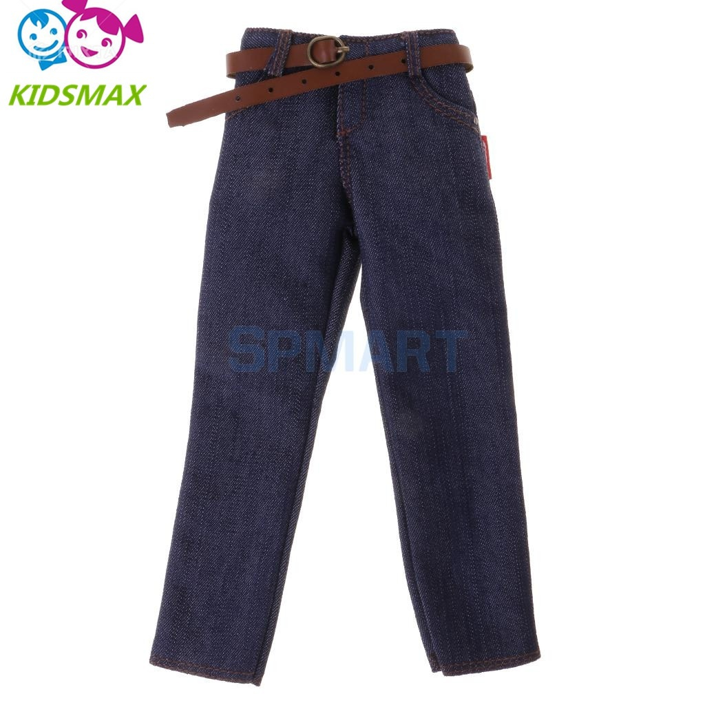"""1//6 Scale Male Long Pants Clothes With Buttons Fit 12/"""" Action Figure Body Model"""