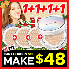 ★Clearance sale 1+1+1+1★ [Laneige] BB cushion Whitening #13 Ivory / #21 Beige / #23 Sand
