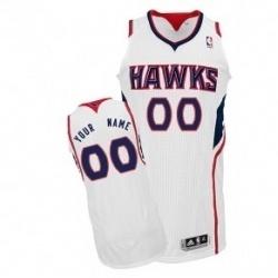 big sale 23e3d 7c225 NBA Atlanta Hawks White Home NBA Custom Jerseys