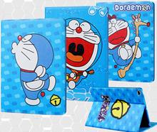 叮当猫 Apple ipad 2/3/4 ipadmini 1/2/3/4 ipad Air 1/2 Doraemon cartoon case cover casing