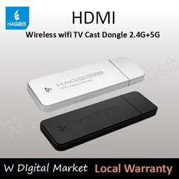 HAGIBIS HDMI Wireless wifi TV Cast Dongle 2.4G+5G