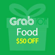 GrabFood $50 Promo Code Voucher Code link Click to Redeem