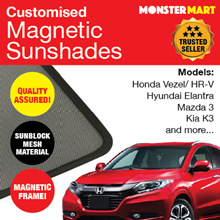 ★QUALITY ASSURED★ MAGNETIC SUNSHADES (Vezel Qashqai Elantra K3 and more...)