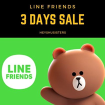 Line Friends ★brown★bags★laptop sleeves★travel pouch★accessories