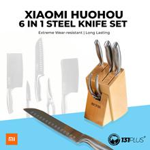 Xiaomi HuoHou 6 in 1 Steel Knife Set