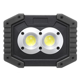 Xmund 2Pcs 30W LED COB Work Light Portable 3 Modes USB Rechargeable Camping Light Flashlight Spotlig